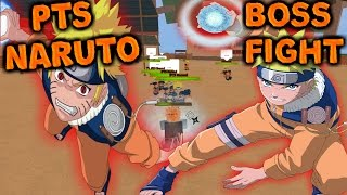 ROBLOX Shinobi Life - PTS Naruto Boss Fight