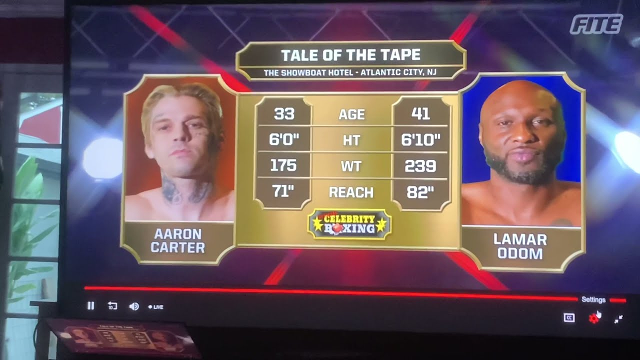 Download Lamar Odom vs Aaron Carter full fight - Aaron carter knocked out