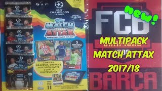 TOPPS Match Attax Champions League 2017/18 MULTIPACK - Unboxing!