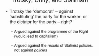 Explorations #11 Path to Stalinism and the Party Line