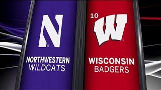 Northwestern at Wisconsin - Football Highlights