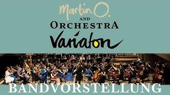 """Band Vorstellung   """"Orchesterfeuerwerk"""" Martin O. & Variaton Orchester   Casino Bern"""