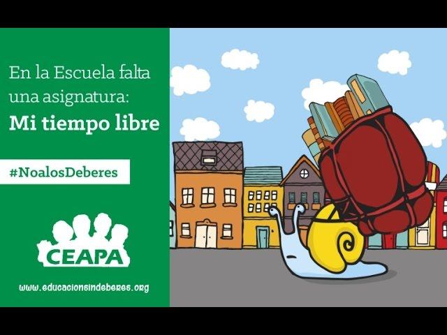 #NoalosDeberes