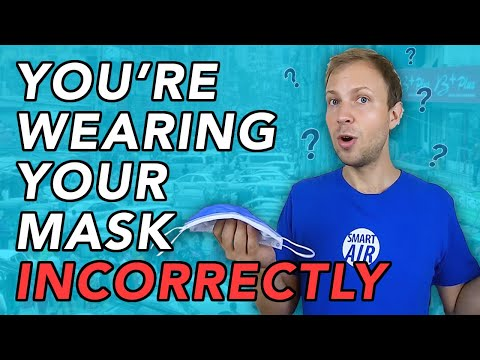 Wearing your surgical face mask WRONG can affect its performance