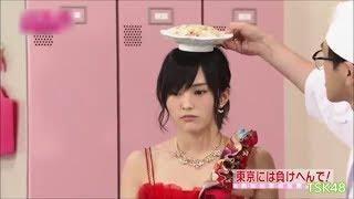 NMB48の「さや姉」こと山本彩さんが、楽屋に出前を持ってきたおっちゃん...