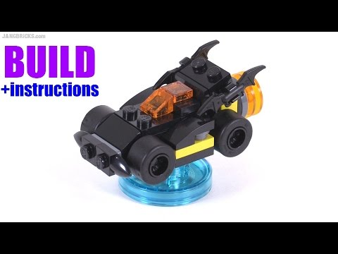 Build With Me Lego Dimensions Batmobile V1 Youtube