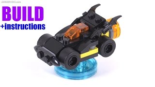Build With Me: Lego Dimensions Batmobile V1