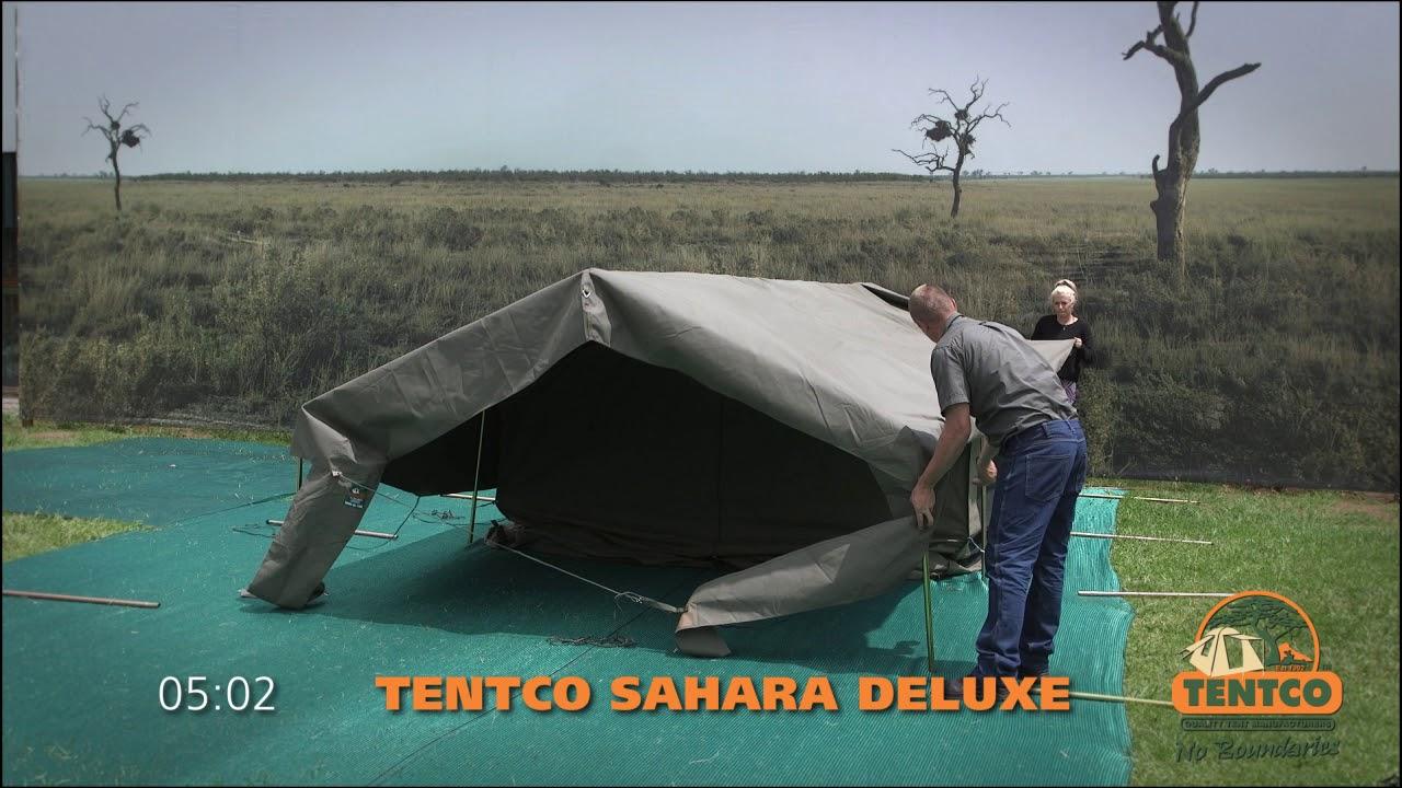 Tentco Sahara Deluxe & Tentco Sahara Deluxe - YouTube