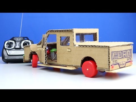 Wow! Ford F150 RC Car DIY - Amazing Mini Gear Car