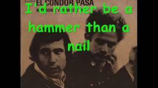 Chanson chanter par Simon et Garfunkel. Karaoké fait par lolalexcoo...