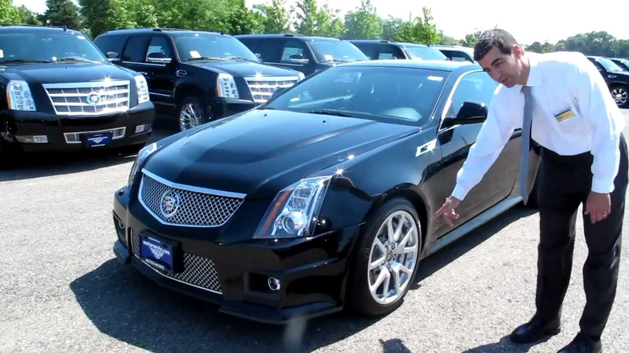 2012 Cadillac Cts V Coupe Youtube