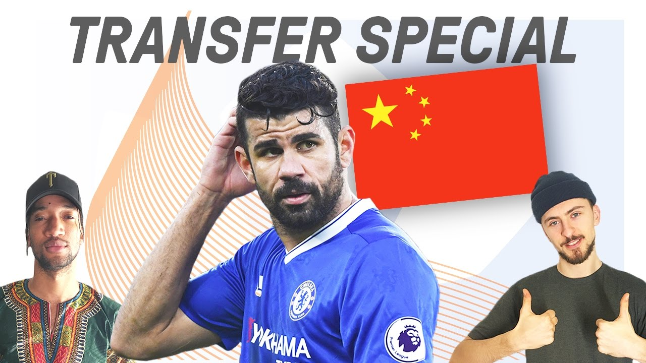 Diego Costa Can't Resist China Mega Money! | Comments Below Transfer Special