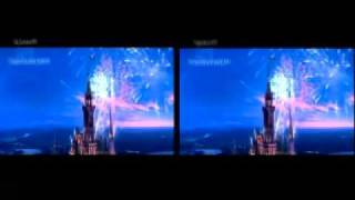 Walt Disney Intro in 3D