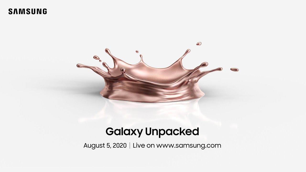 Online Invitation] Samsung Galaxy Unpacked 2020 – Samsung Global ...