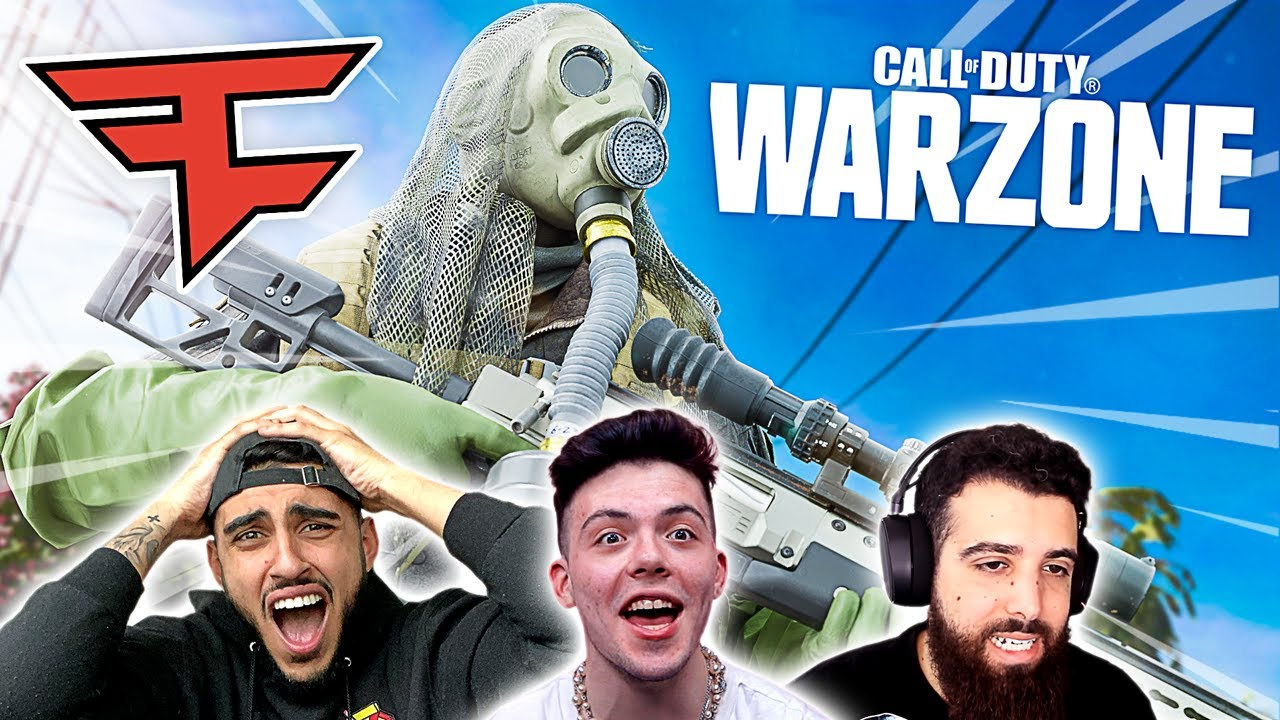 FaZe House Plays Call of Duty : WARZONE