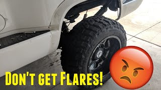 Do not get Fender Flares!
