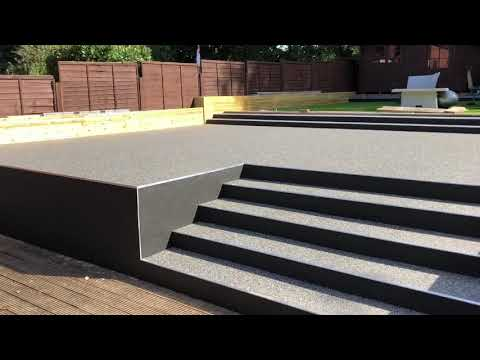 Resin patio in Kent by Varney Surfaces