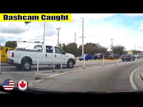 Ultimate North American Cars Driving Fails Compilation - 121 [Dash Cam Caught Video]
