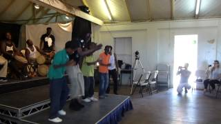 Kids Workshop for Montserrat's African Music Festival 2013