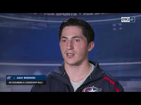 Zach Werenski eager to assume greater leadership role on Columbus Blue Jackets