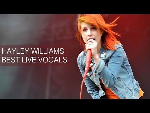 Hayley Williams' Best Live Vocals