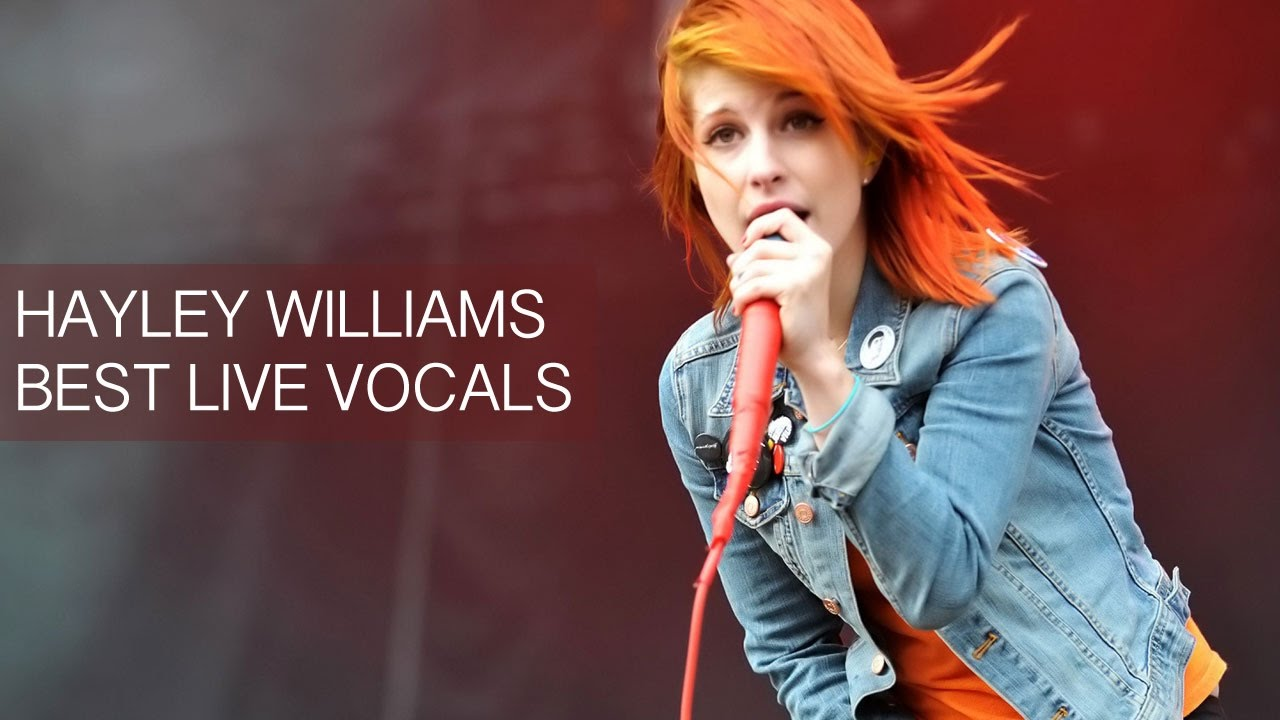 Hayley Williams' Best Live Vocals - YouTube
