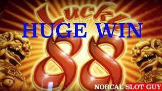 LUCKY 88 BONUS 369X WIN @ Graton Casino | NorCal Slot Guy