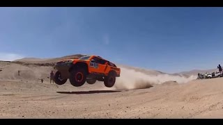 Robby Gordon in the 2015 Dakar Rally