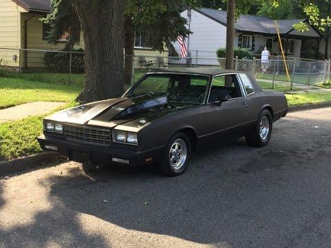 Built Matte Black 1981 Monte Carlo 2000hp