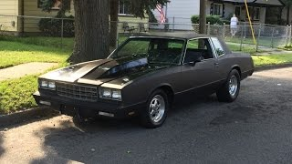 Built Matte Black 1981 Monte Carlo 2000hp