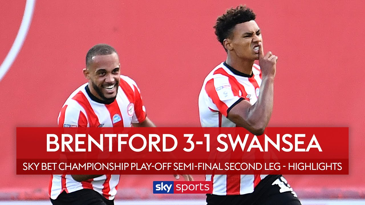 Bees pull off comeback to reach Wembley! | Brentford 3-1 Swansea | Championship Play-Off Highlights