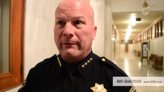 """SFPD Chief Suhr backs Vision Zero pedestrian safety plan, promises """"seismic shift"""" in policy"""