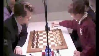 Young kid trolling Aronian