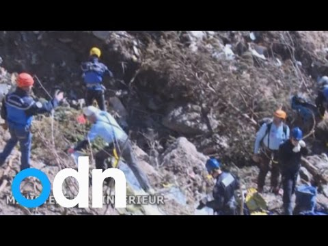 Germanwings crash: Small army of specialists extract debris and bodies from site