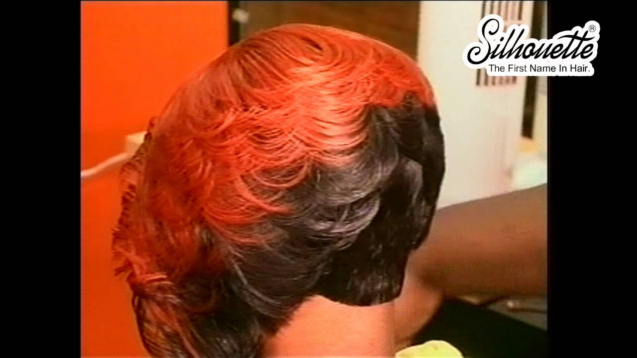 Hair Instructional Video The Feather Bob Youtube