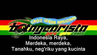 Gambar cover Indonesia Raya - Botagearista (With Lyrics)