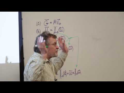 Intermediate Dynamics: Introduction to 3D Rigid Body Dynamics (23 of 29)