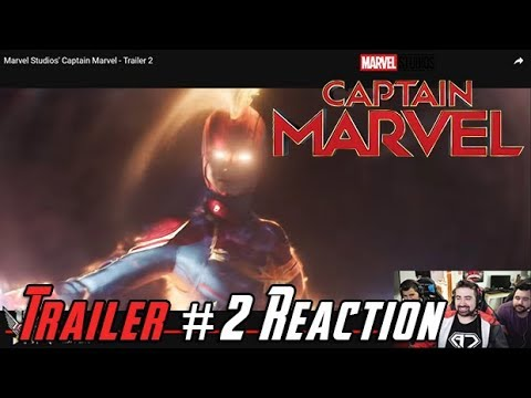 Captain Marvel - Angry Trailer #2 Reaction!