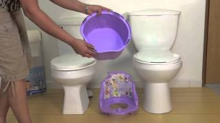 Product Video For The 3-in-1 Potty Chair