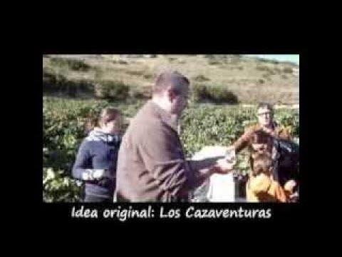 Vendimia en Lapuebla de Labarca, Rioja Alavesa. Cazaventuras.tv, cap016