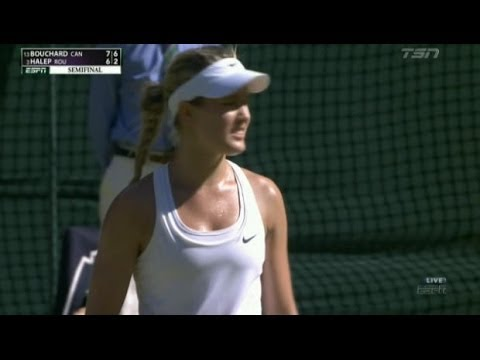 Eugenie Bouchard reaches Wimbledon final