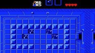 The Legend Of Zelda - First Quest Swordless TAS Speed-Run