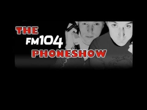 Adrian Kennedy FM104 Phoneshow- Men vs Women 'Get it Off Your Chest'