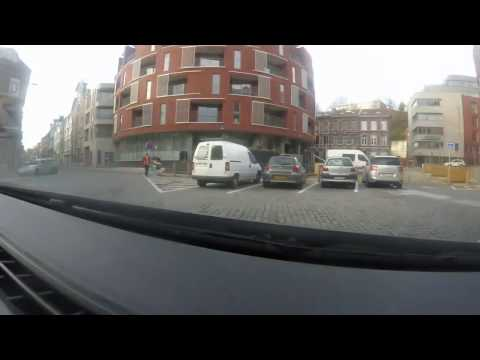 Driving in Liege