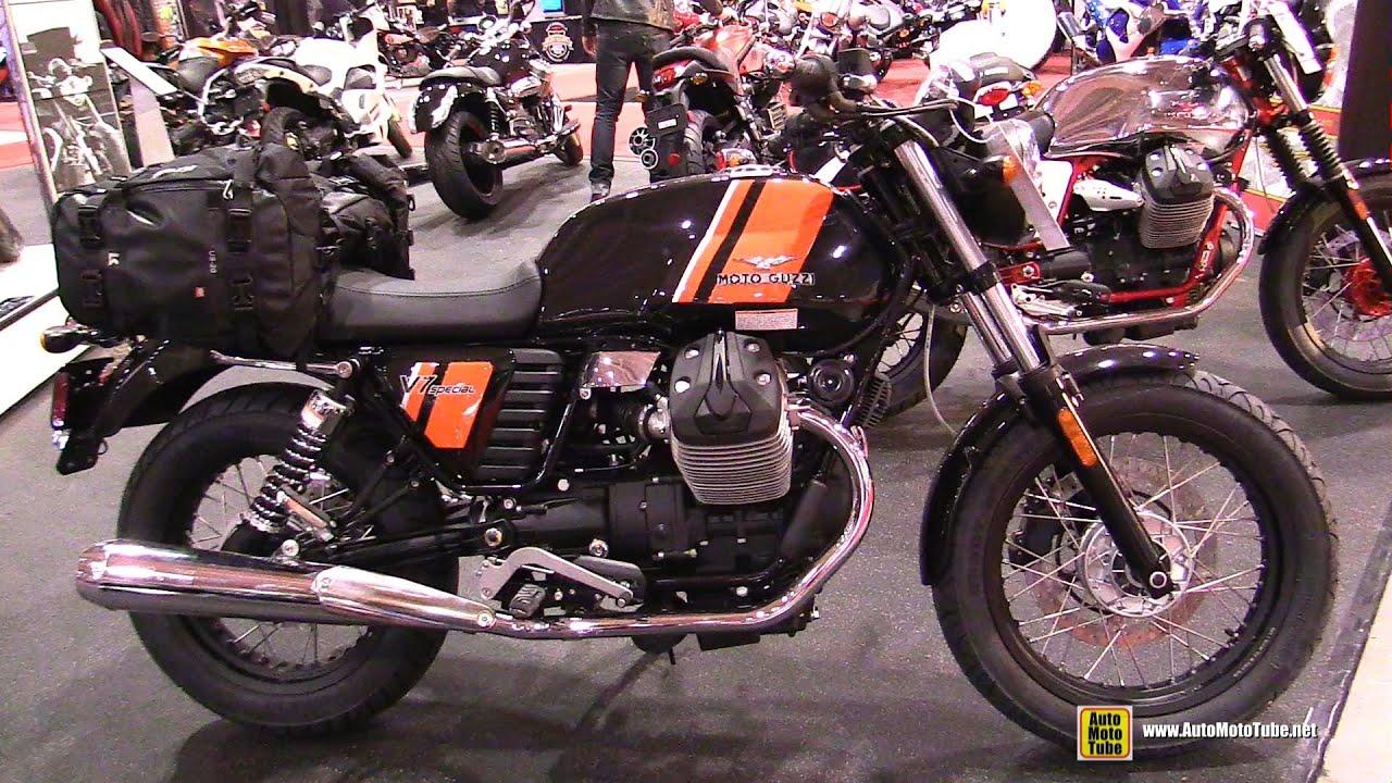 2015 Moto Guzzi V7 Special - Walkaround - 2015 Toronto Motorcycle ...