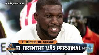 😱 DRENTHE deja a todos ALUCINANDO en el TEST de EDU AGUIRRE