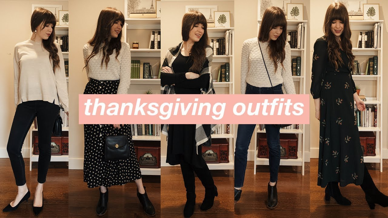 5 Thanksgiving Outfit Ideas: Casual to Dressy Fall Outfits 1