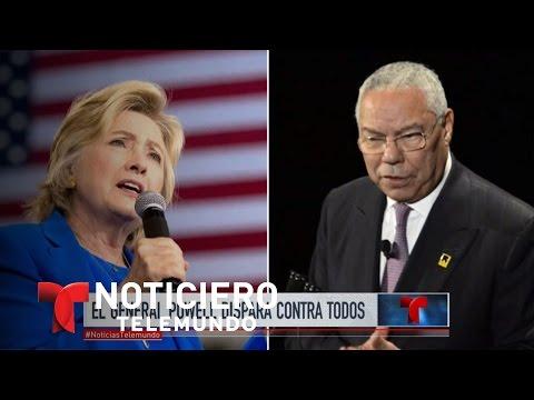 Los conflictivos correos de Colin Powell | Noticiero | Noticias Telemundo