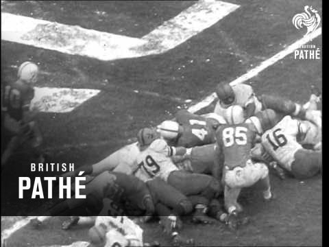 The American Cotton Bowl Football Match (1960)