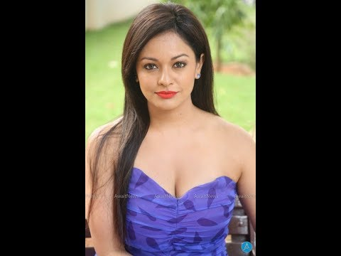 Pooja Kumar Hot Cleavage Show In Strapless Blue Midi   PSV Garuda Vega Teaser Launch thumbnail